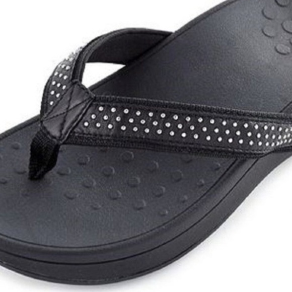 ce227780f1cb Vionic Wedge WIDE Black Sandals 11 LAST ONES. M 5bd8998e035cf17803384fae